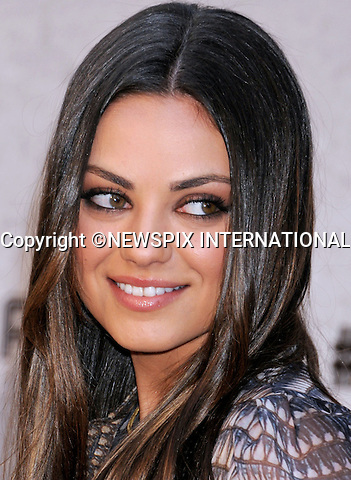 "MILA KUNIS.attends the Spike TV's Guys Choice Awards 2011 at Sony Pictures Studios, Culver City, California_04/06/2011.Mandatory Photo Credit: ©Crosby/Newspix International..**ALL FEES PAYABLE TO: ""NEWSPIX INTERNATIONAL""**..PHOTO CREDIT MANDATORY!!: NEWSPIX INTERNATIONAL(Failure to credit will incur a surcharge of 100% of reproduction fees)..IMMEDIATE CONFIRMATION OF USAGE REQUIRED:.Newspix International, 31 Chinnery Hill, Bishop's Stortford, ENGLAND CM23 3PS.Tel:+441279 324672  ; Fax: +441279656877.Mobile:  0777568 1153.e-mail: info@newspixinternational.co.uk"