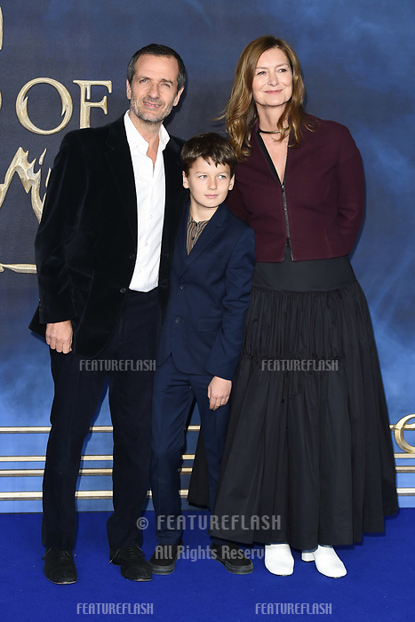 LONDON, UK. November 13, 2018: David Heyman at the &quot;Fantastic Beasts: The Crimes of Grindelwald&quot; premiere, Leicester Square, London.<br /> Picture: Steve Vas/Featureflash