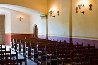 Mission Concepcion interior, San Antonio, Texas.<br /> <br /> Canon EOS 30D, 17-40 f/4L lens