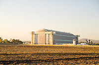 Historic North Blimp Hanger at Marine Corps Air Station