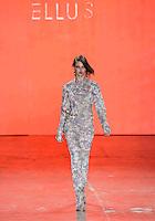 SAO PAULO, SP, 19 MARÇO 2013 - SPFW - ELLUS - A modelo Lindsey Wixson durante desfile da grife Ellus no segundo dia da São Paulo Fashion Week, coleção Primavera-Verão na Bienal do Ibirapuera, zona sul de São Paulo, nesta terça-feira, 19. (FOTO: WILLIAM VOLCOV / BRAZIL PHOTO PRESS).