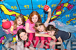 AS GAEILGE:  The Glen was a hive of.activity during the week when local children.and visitors attended a summer camp at.Ionad Lae an Ghleanna..L/r. Isabelle Matthews, Lexi Kilfeather, Sive Brennan, Ella Kilfeather and Laura Matthews.   Copyright Kerry's Eye 2008