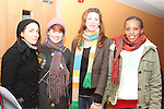 Eimear Delahunty, Ciara Conlon, Adel Quinn and Mary Franklin Mugisha at the Development Perspectives Meeting in The Barbican...(Photo credit should read Jenny Matthews www.newsfile.ie)....This Picture has been sent you under the conditions enclosed by:.Newsfile Ltd..The Studio,.Millmount Abbey,.Drogheda,.Co Meath..Ireland..Tel: +353(0)41-9871240.Fax: +353(0)41-9871260.GSM: +353(0)86-2500958.email: pictures@newsfile.ie.www.newsfile.ie.