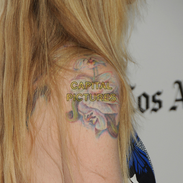 "Kristin Bauer van Straten's tattoo.""Magic Mike"" Los Angeles Film Festival 2012 Premiere held at Regal Cinemas LA Live, Los Angeles, California, USA..June 24th, 2012.detail shoulder flower.CAP/ADM/BP.©Byron Purvis/AdMedia/Capital Pictures."