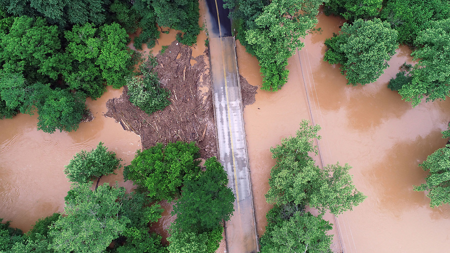 Albemarle County flooding. Photo/Andrew Shurtleff Photography, LLC