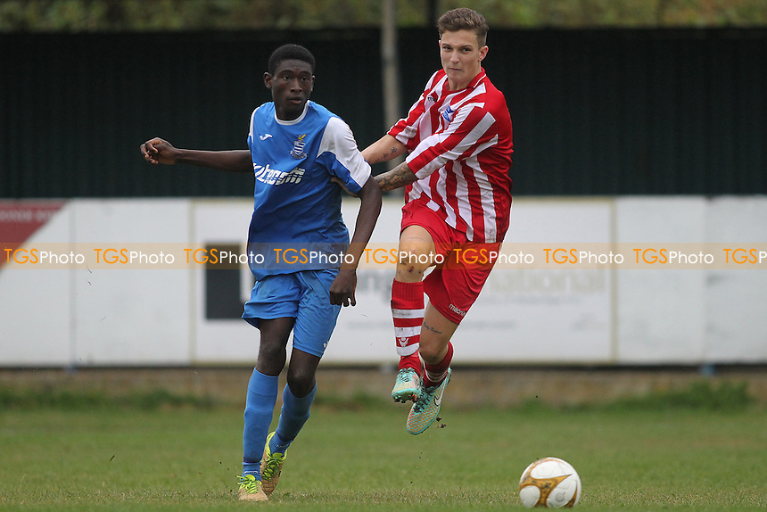 DJ Adelekan of Redbridge  during Redbridge vs Eton Manor, Essex Senior League Football at Oakside Stadium on 10th September 2016