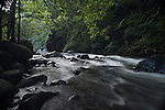 The powerfull Iao Valley stream going full force. This is one of the most sacred places in Maui Hawaii.