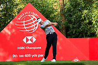 Ian Poulter (ENG) on the 9th tee during round 1 at the WGC HSBC Champions, Sheshan Golf Club, Shanghai, China. 31/10/2019.<br /> Picture Fran Caffrey / Golffile.ie<br /> <br /> All photo usage must carry mandatory copyright credit (© Golffile | Fran Caffrey)