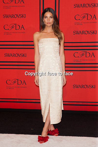 NEW YORK, NY - JUNE 3: Lily Aldridge at the 2013 CFDA Fashion Awards at Lincoln Center's Alice Tully Hall in New York City. June 3, 2013. <br />
