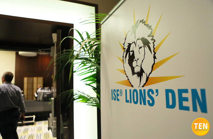 T.E.N. and Marci McCarthy hosted the ISE&reg; Lions' Den &amp; Jungle Lounge 2015 at the Vdara Hotel in Las Vegas, Nevada on August 5, 2015.<br />