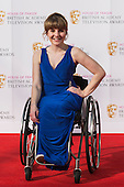 London, UK. 8 May 2016. Actress Ruth Madeley. Red carpet  celebrity arrivals for the House Of Fraser British Academy Television Awards at the Royal Festival Hall.
