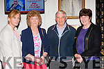 Julie talbot, Joan Brosnan Beaufort, John O'Neill Rathmore and Mary O'Neill Blackwater at the Dermot Moriarty 25th anniversary concert in the Gleneagle Hotel on Saturday night