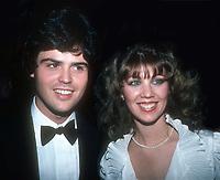 #DonnyOsmond & wife #DebbieOsmond 1981<br /> Photo By Adam Scull/PHOTOlink.net