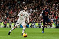 Real Madrid's Francisco Alarcon 'Isco' during La Liga match between Real Madrid and Valencia CF at Santiago Bernabeu Stadium in Madrid, Spain. December 01, 2018. (ALTERPHOTOS/A. Perez Meca) /NortePhoto NORTEPHOTOMEXICO