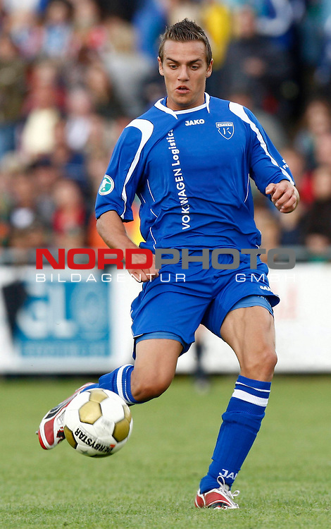 FBL  2008/2009  Testspiel<br /> Werder Bremen - Kickers Emden in Leer-Loga<br /> Thomas Klasen (Kickers #9)<br /> <br /> Foto &copy; nph (  nordphoto  )<br /> <br /> <br /> <br />  *** Local Caption ***