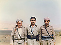 Iran 1981 <br /> In Rajan,left, Najmeddin Yousefi and Dr. Nasser <br /> Irak 1981<br /> A Rajan, a gauche, Najmeddin Yousefi et le dr.Nasser
