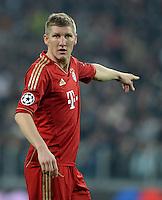 FUSSBALL  CHAMPIONS LEAGUE  VIERTELFINALE  RUECKSPIEL  2012/2013      Juventus Turin - FC Bayern Muenchen        10.04.2013 Bastian Schweinsteiger (FC Bayern Muenchen)