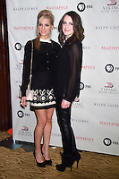 NEW YORK, NY - DECEMBER 12: Joanne Froggatt and Sophie McShera at the Downton Abbey Photo Call promoting it's third season on PBS at the Art Deco Room at Essex House, New York City. December 12, 2012. Credit: RW/MediaPunch Inc. /NortePhoto