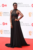 Jaqueline Abrahams arriving for the BAFTA TV Awards 2018 at the Royal Festival Hall, London, UK. <br /> 13 May  2018<br /> Picture: Steve Vas/Featureflash/SilverHub 0208 004 5359 sales@silverhubmedia.com