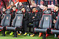 The AFC Bournemouth bench during AFC Bournemouth vs Wigan Athletic, Emirates FA Cup Football at the Vitality Stadium on 6th January 2018