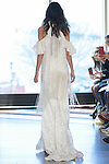 "Model Chantelle walks runway in a ""Cher"" bridal gown from the Rivini Spring Summer 2017 bridal collection by Rita Vinieris at The Standard Highline Room, during New York Bridal Fashion Week on April 15, 2016."