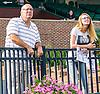 John & Maddie Witte at Delaware Park on 8/25/16