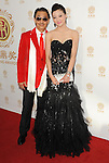 George Cheung and date arriving at the 'Huading Film Awards' held at The Montalban Theater Los Angeles, CA. June 1, 2014.