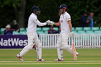 A useful partnership for Alastair Cook (R) and Varun Chopra of Essex during Worcestershire CCC vs Essex CCC, Specsavers County Championship Division 1 Cricket at Blackfinch New Road on 12th May 2018
