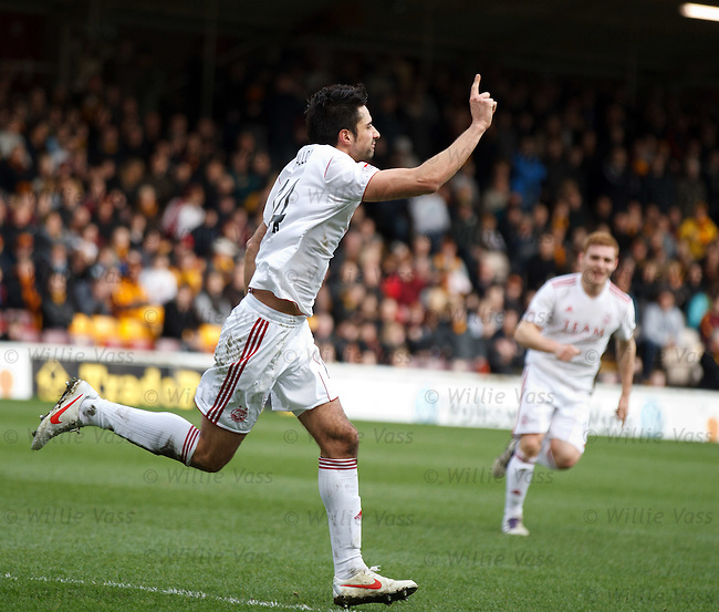 Rory Fallon celebrates his second goal of the match