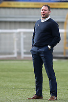 Havant and Waterlooville Manager, Lee Bradbury during Maidstone United vs Havant and Waterlooville, Vanarama National League Football at the Gallagher Stadium on 9th March 2019