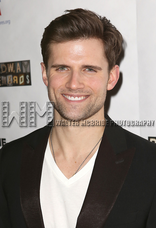 """Kyle Dean Massey attends the """"Broadway Backwards"""" After Party Reception  at John's Restaurant on March 24, 2014 in New York City."""