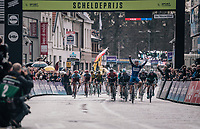 Fabio Jakobsen (NED/Quick-Step Floors) wins the Scheldeprijs as a neo-pro<br /> <br /> 106th Scheldeprijs 2018 (1.HC)<br /> 1 Day Race: Terneuzen (NED) - Schoten (BEL)(200km)