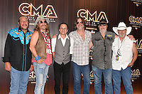 11 June 2016 - Nashville, Tennessee - The Marshall Band. 2016 CMA Music Festival Nightly Press Conference held at Nissan Stadium. Photo Credit: AdMedia
