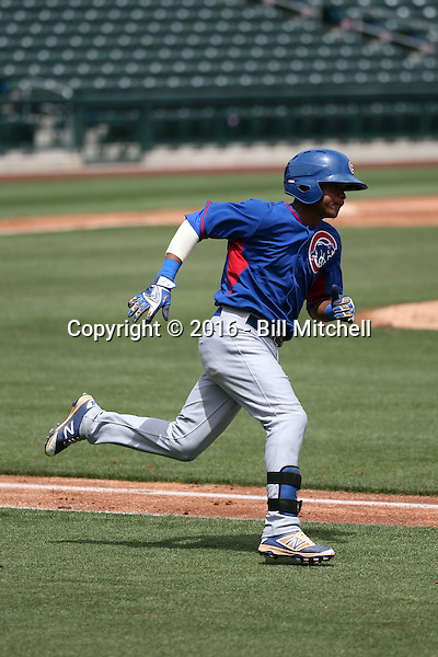 Yeiler Peguero - Chicago Cubs 2016 extended spring training (Bill Mitchell)