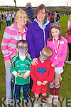 Enjoying the family day out at the Coiste na nOg fun day hosted by Athea GAA last Sunday afternoon was l-r: Carol and Cillian O'Connor, Kathleen, James and Kathleen Broderick