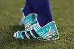 Leo Messi shoe's ,9th September 2017, Camp Nou, Barcelona, Spain; La Liga football, Barcelona versus Espanyol;