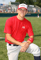 July 28th 2007:  Blake Tekotte during the Cape Cod League All-Star Game at Spillane Field in Wareham, MA.  Photo by Mike Janes/Four Seam Images