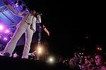 Banda Ms durante su presentación en el baile anual de la estación de radio la Mejor fm 98.5. Hermosillo, Sonora. 3,Sep,2012...Luis Gutierrez/NortePhoto