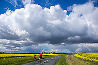 Picture by Alex Whitehead/SWpix.com - 30/04/2016 - Cycling - Tour de Yorkshire, Stage 2: Otley to Doncaster - Yorkshire, England - amateur cyclists.