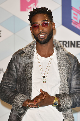 Tinie Tempah<br /> 2016 MTV EMAs in Ahoy Arena, Rotterdam, The Netherlands on November 06, 2016.<br /> CAP/PL<br /> &copy;Phil Loftus/Capital Pictures /MediaPunch ***NORTH AND SOUTH AMERICAS ONLY***