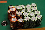 First time a $100,000 chip put into play at the WSOP.