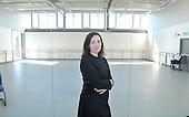 Scottish Dance Theatre Artistic Director Fleur Darkin at the Tramway (Scottish Ballet base in Glasgow) - picture by Donald MacLeod - 08.10.12 - 07702 319 738 - clanmacleod@btinternet.com - www.donald-macleod.com