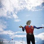 Big Tex in Fair Park, Dallas, Texas.