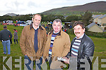 Checking out the form at the Cahersiveen races on Sunday last were l-r; Tony King, Mike McCarthy and Mattie Quirke.