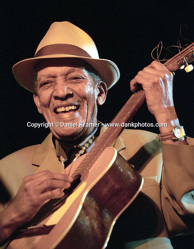 Compay Segundo, whose career got a boost from the Buena Vista Social Club, performs at the Casa de la Musica in Havana, Cuba in 1999. He died in 2003 at age 95.