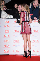 Eden Taylor Draper at the National Television Awards 2018 at the O2 Arena, Greenwich, London, UK. <br /> 23 January  2018<br /> Picture: Steve Vas/Featureflash/SilverHub 0208 004 5359 sales@silverhubmedia.com