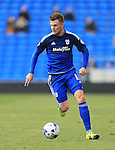 Cardiff's Anthony Pilkington in action during the Sky Bet Championship League match at The Cardiff City Stadium.  Photo credit should read: David Klein/Sportimage via PA Images