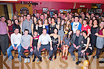 Humphrey Kerins, Dunrine, Tralee Road, Killarney, pictured with his family and many friends as he celebrated his 50th birthday in the Village Inn, Kilcummin on Saturday night.