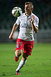 Digne of Paris Saint-Germain in action during Kitchee SC vs Paris Saint-Germain during the The Meeting of Champions on July 29, 2014 at the Hong Kong stadium in Hong Kong, China.  Photo by Aitor Alcalde / Power Sport Images