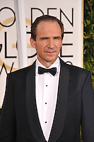 Ralph Feinnes at the 72nd Annual Golden Globe Awards at the Beverly Hilton Hotel, Beverly Hills.<br /> January 11, 2015  Beverly Hills, CA<br /> Picture: Paul Smith / Featureflash